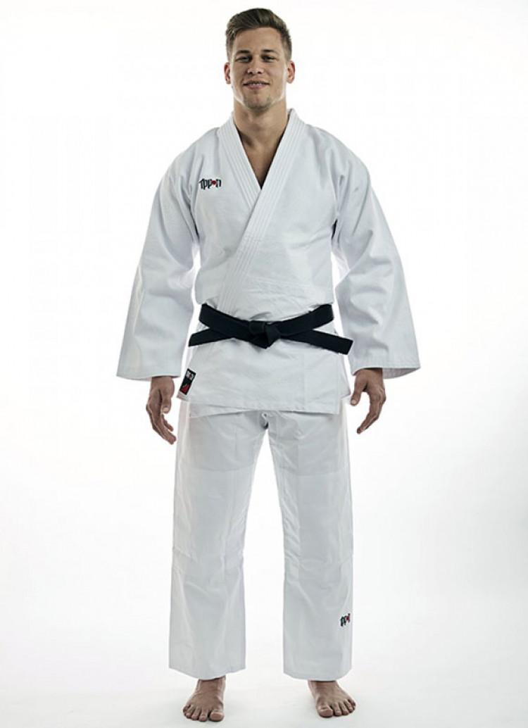 Подростковое белое кимоно Basic