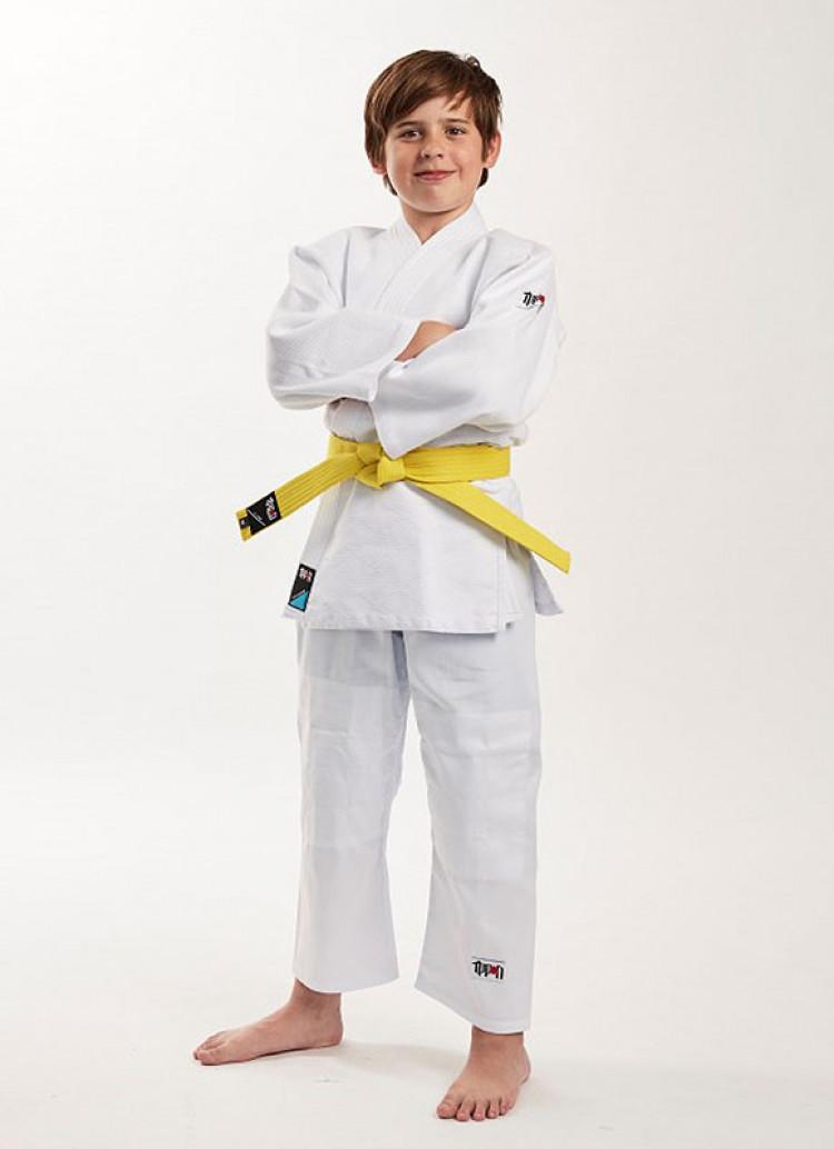 Детское белое кимоно Future