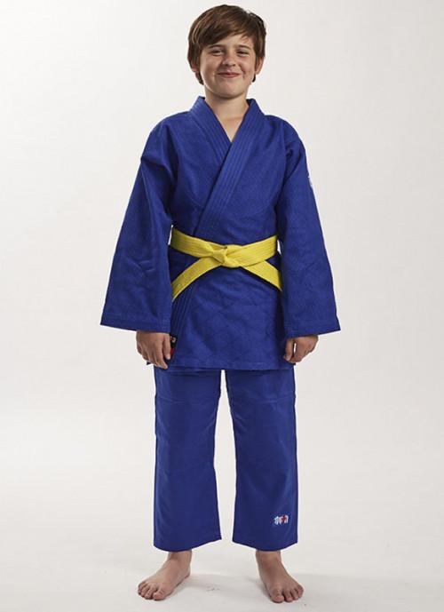 Детское синее кимоно Future